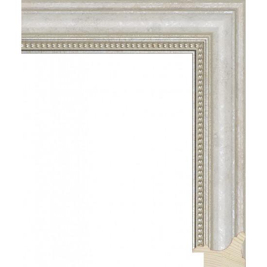 RS033.1.246 Деревянный багет белый в интернет-магазине ROSESTAR фото