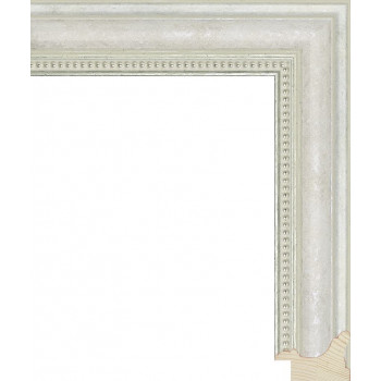 RS033.1.302 Деревянный багет белый