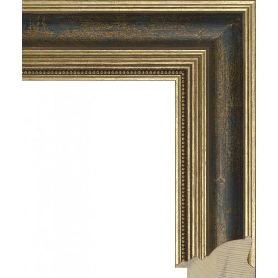 RS035.1.058 Деревянный багет золотой в интернет-магазине ROSESTAR фото