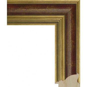 RS035.1.059 Деревянный багет золотой