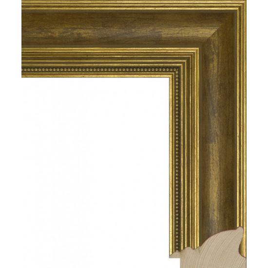 RS035.1.082 Деревянный багет золотой в интернет-магазине ROSESTAR фото