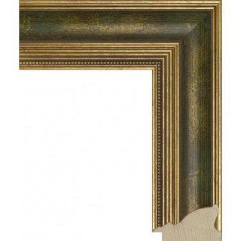 RS035.1.083 Деревянный багет золотой