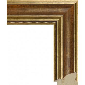 RS035.1.084 Деревянный багет золотой