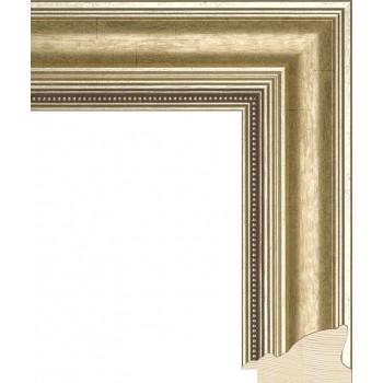 RS035.1.256 Деревянный багет золотой