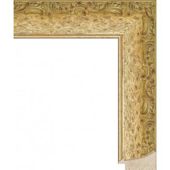 RS037.1.192 Деревянный багет золотой