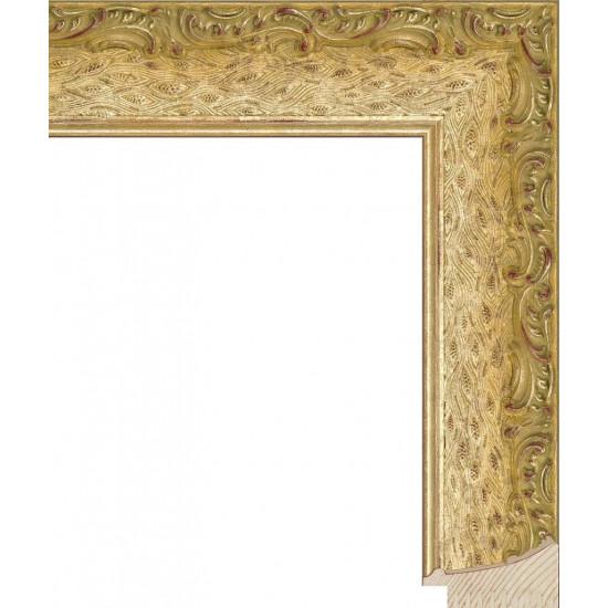 RS037.1.192 Деревянный багет золотой в интернет-магазине ROSESTAR фото