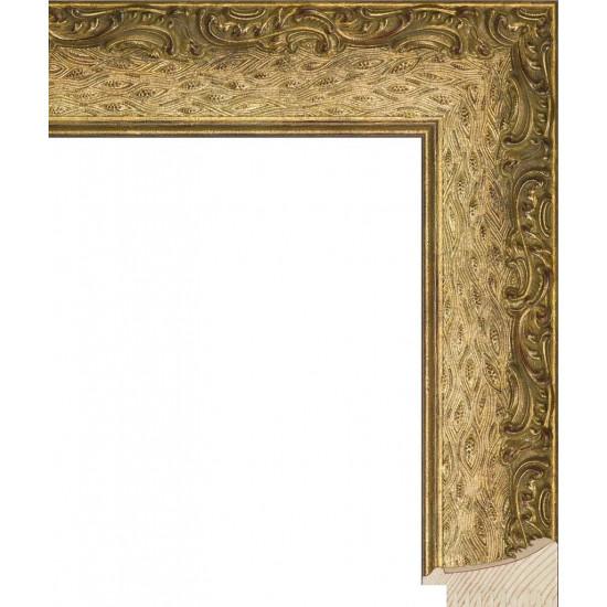 RS037.1.193 Деревянный багет золотой в интернет-магазине ROSESTAR фото
