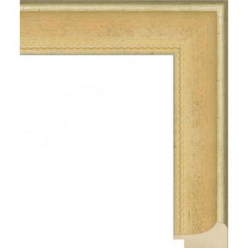 RS042.1.125 Деревянный багет золотой