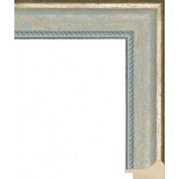 RS042.1.126 Деревянный багет синий