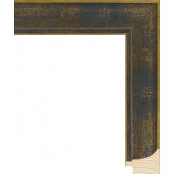 RS044.0.103 Деревянный багет синий