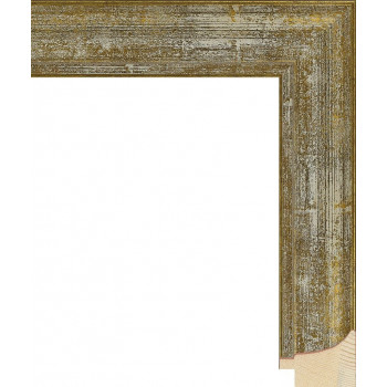 RS044.0.104 Деревянный багет золотой