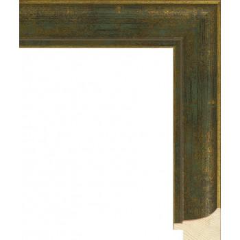 RS044.0.105 Деревянный багет зелёный