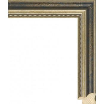 RS045.1.058 Деревянный багет синий
