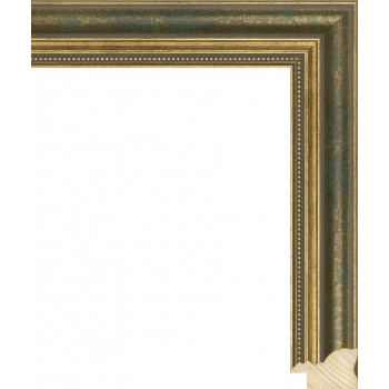 RS045.1.096 Деревянный багет зелёный