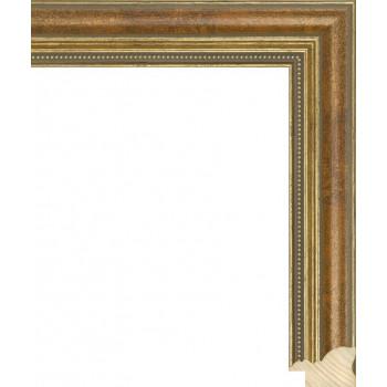 RS045.1.144 Деревянный багет бронзовый