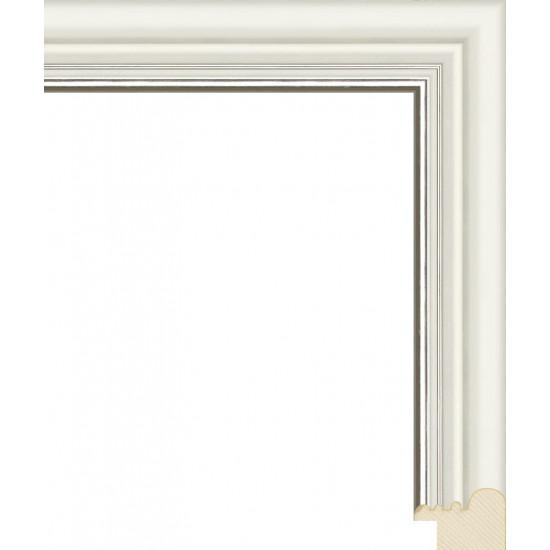RS046.0.146 Деревянный багет белый в интернет-магазине ROSESTAR фото