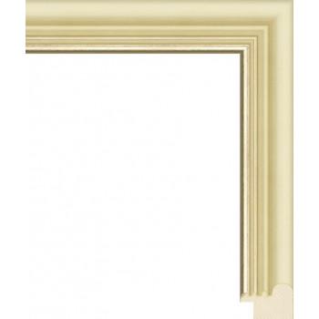 RS046.0.148 Деревянный багет белый