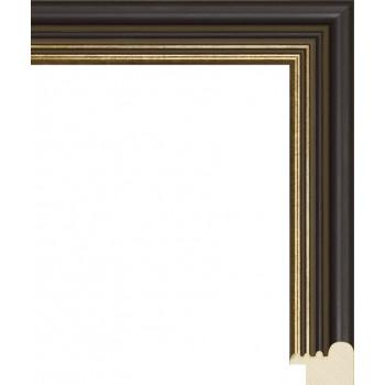 RS046.0.163 Деревянный багет коричневый