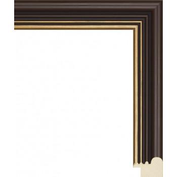 RS046.0.165 Деревянный багет коричневый