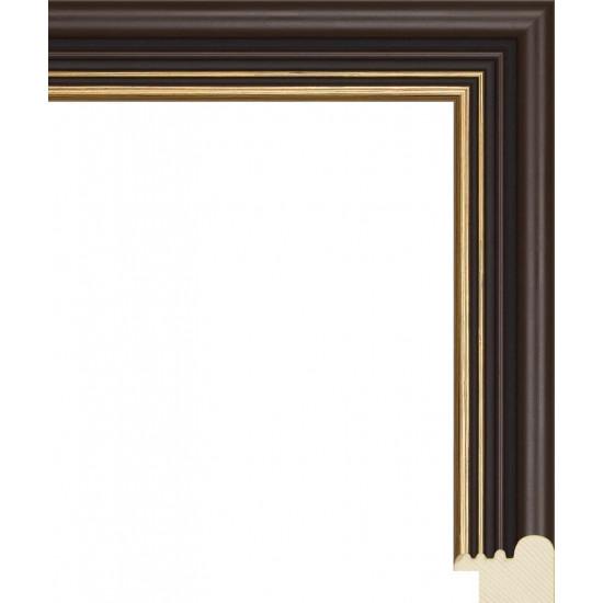 RS046.0.165 Деревянный багет коричневый в интернет-магазине ROSESTAR фото