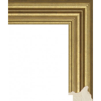 RS048.0.088 Деревянный багет золотой