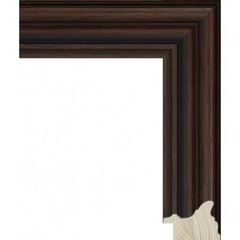 RS048.0.359 Деревянный багет коричневый