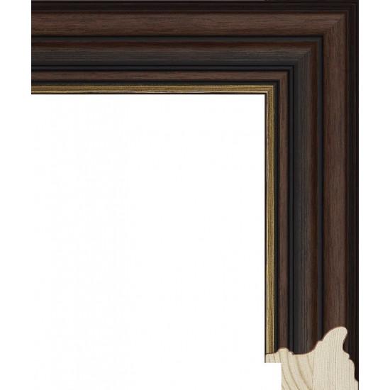 RS048.0.360 Деревянный багет коричневый