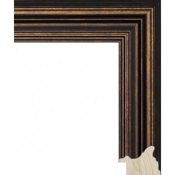 RS048.0.396 Деревянный багет коричневый