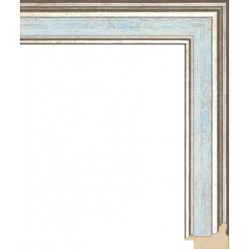 RS052.0.114 Деревянный багет голубой