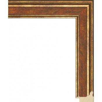 RS052.0.117 Деревянный багет коричневый