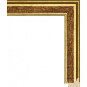 RS052.0.119 Деревянный багет коричневый