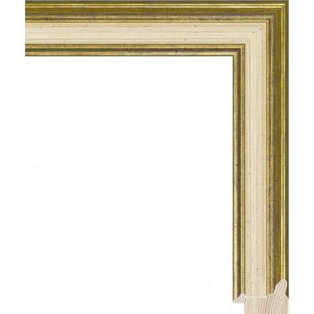 RS052.0.196 Деревянный багет золотой