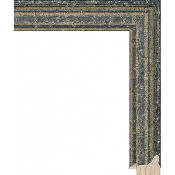RS052.0.663 Деревянный багет чёрный