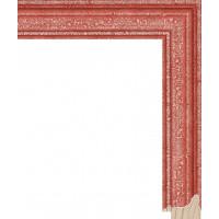 RS052.0.665 Деревянный багет красный