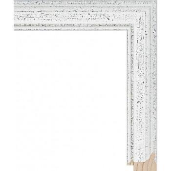 RS052.0.666 Деревянный багет белый