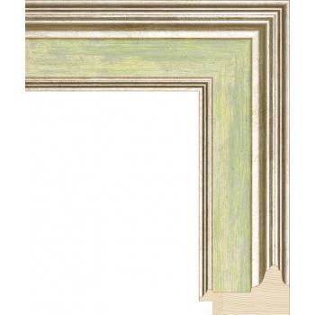 RS053.0.113 Деревянный багет зелёный