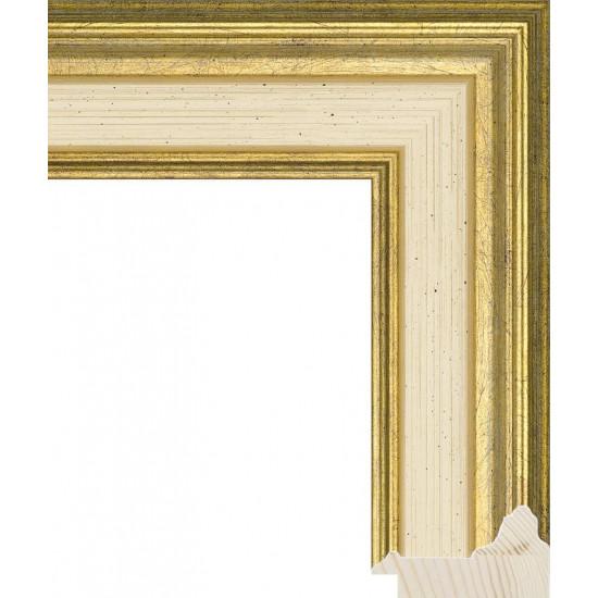 RS053.0.196 Деревянный багет золотой в интернет-магазине ROSESTAR фото