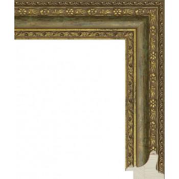 RS055.1.097 Деревянный багет золотой