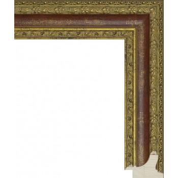 RS055.1.100 Деревянный багет золотой