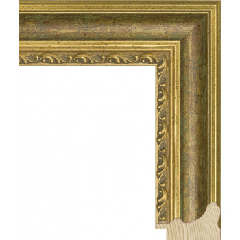 RS058.1.062 Деревянный багет золотой