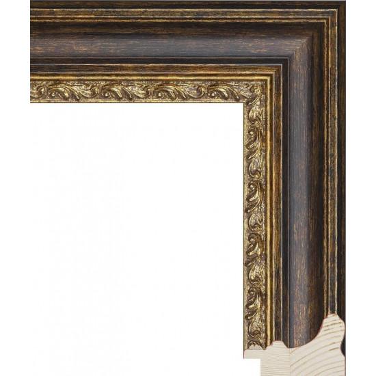 RS058.1.254 Деревянный багет коричневый в интернет-магазине ROSESTAR фото