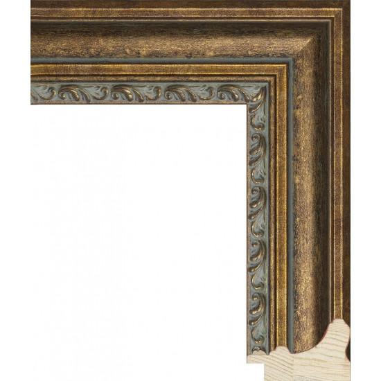 RS058.1.255 Деревянный багет коричневый в интернет-магазине ROSESTAR фото