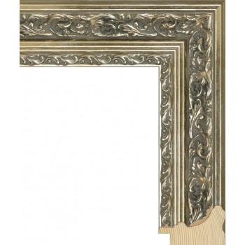 RS058.2.073 Деревянный багет серебряный