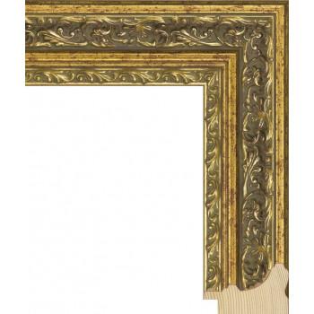 RS058.2.080 Деревянный багет золотой