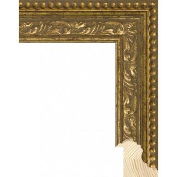 RS059.1.001 Деревянный багет золотой