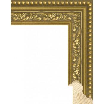 RS059.1.062 Деревянный багет золотой