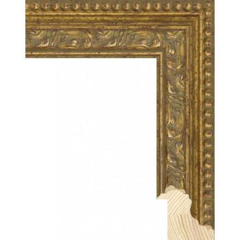 RS059.1.080 Деревянный багет золотой