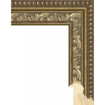 RS059.1.129 Деревянный багет золотой