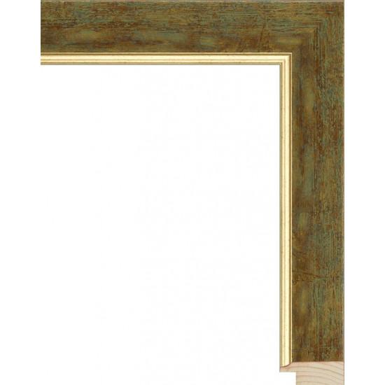 RS062.0.175 Деревянный багет золотой в интернет-магазине ROSESTAR фото