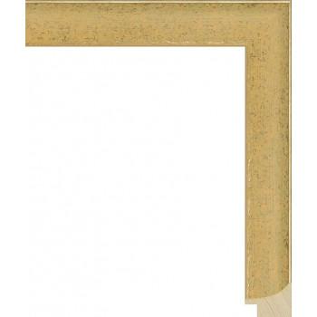 RS066.0.125 Деревянный багет золотой
